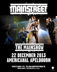 Mainstreet Poster - Apeldoorn 22 december-2